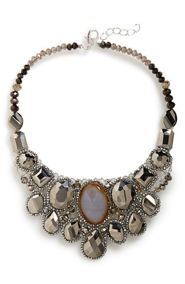 Panacea Crystal Statement Necklace available at #Nordstrom