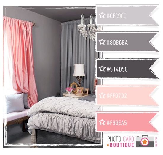 15 Must-see Gray Pink Bedrooms Pins