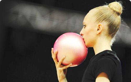 Yana KUDRYAVTSEVA (RUS) Ball Training