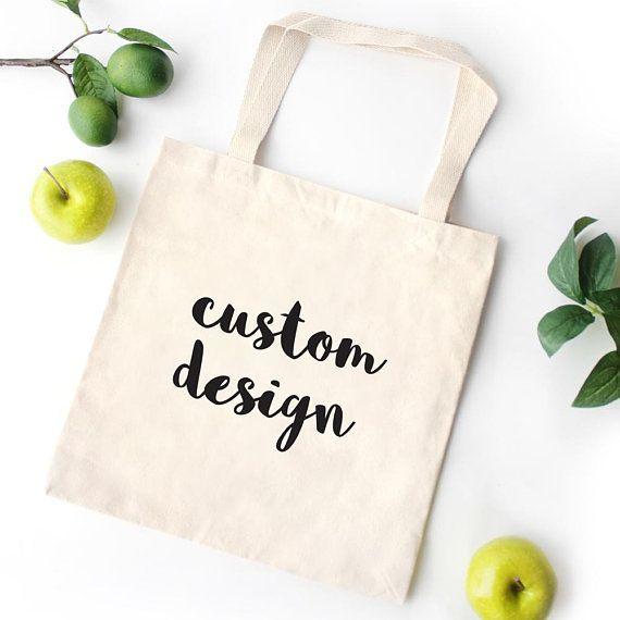 Personalisierte Canvas Tasche, Canvas Tote Bag Feministin, Lehrerin Tote Bag, Monogramm Tote Bag
