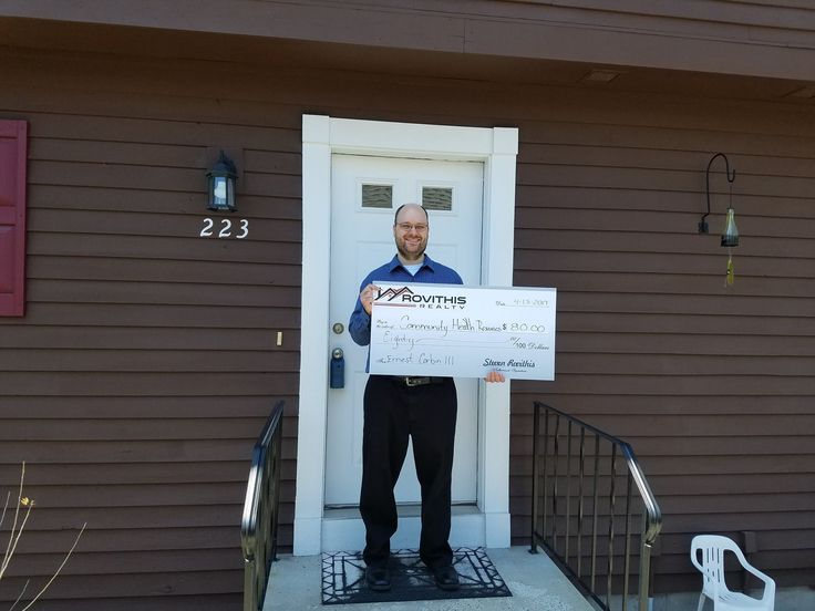 Congratulations to Mr. Corbin on the purchase of his home! Thank you for choosing Pamela K. McCarthy-REALTOR MA & CT as your realtor. As always, Rovithis Realty, LLC is donating a portion of the commission to a charity of the clients choice, Community Health Resources #WhoYouWorkWithMatters #GiveBack