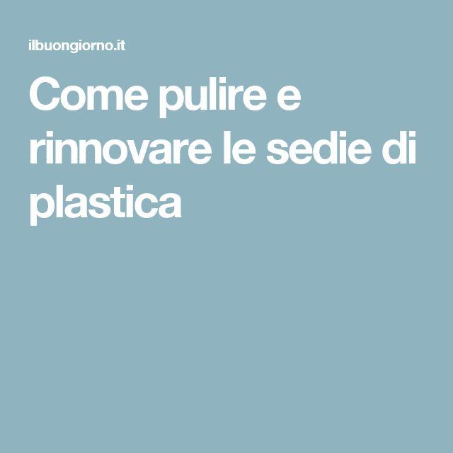 Più di 25 fantastiche idee su Sedie Di Plastica su Pinterest ...