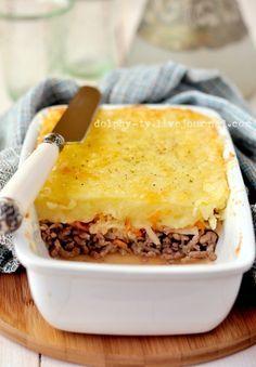 Рецепт немецкой картофельной запеканки с фаршем