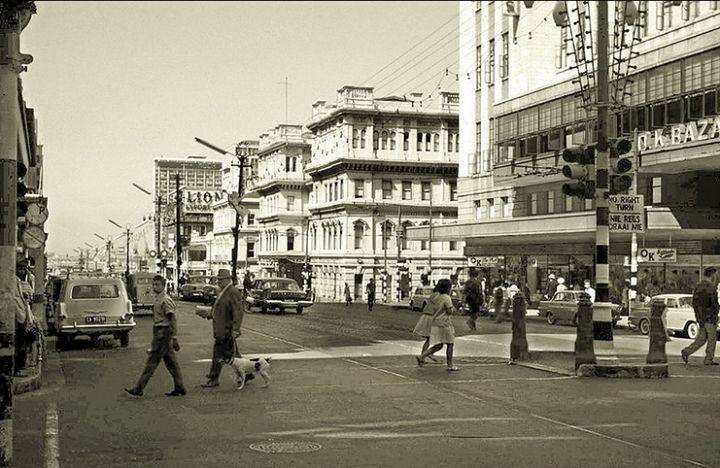 Adderley Street around 1963! - cometocapetown.com