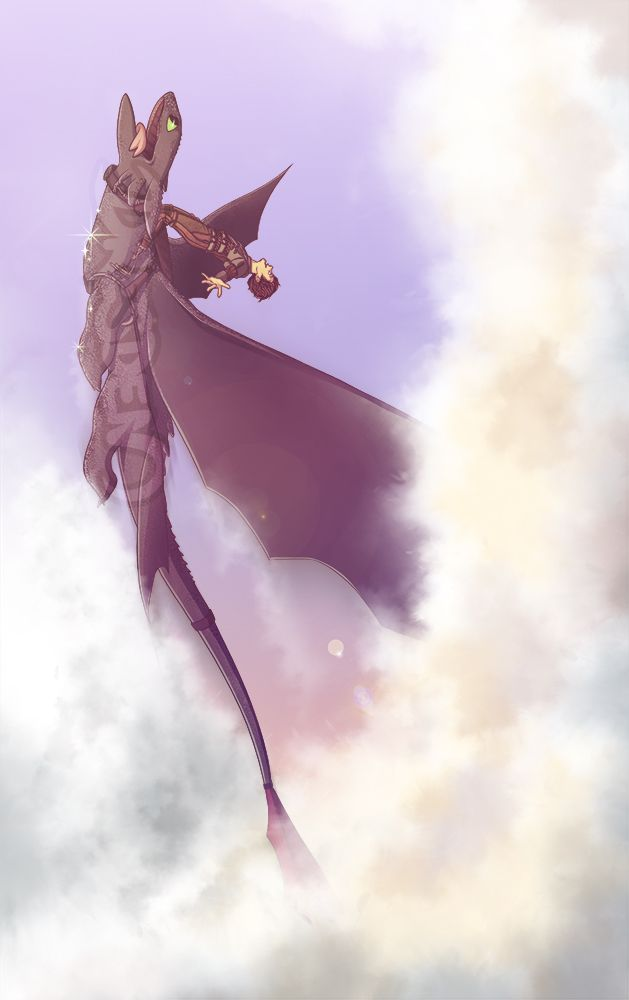 """""""This is what it is to be a dragon.  When I'm up here, I don't even feel the cold."""" How to Train your Dragon 2"""