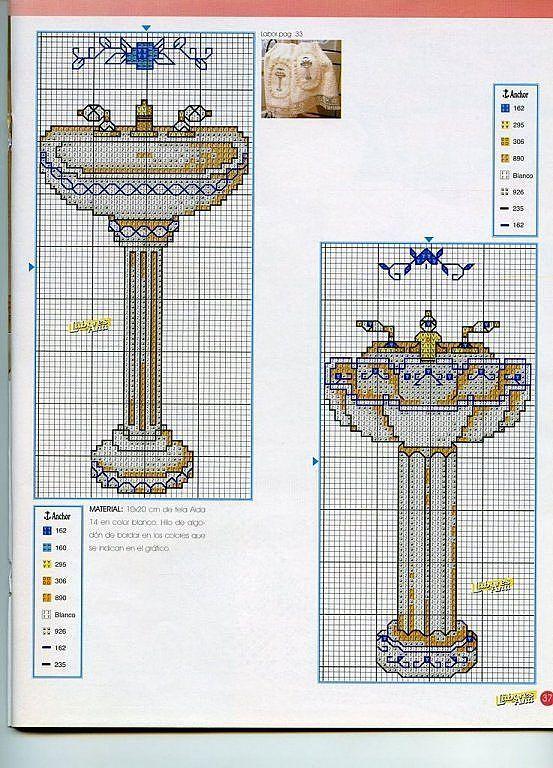 tengo muchos patrones de punto de cruz. (pág. 22) | Aprender manualidades es facilisimo.com