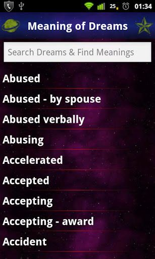Meanings Of Dreams: Dictionary v1.2 APK – What does my dream mean? Discover and interpret the meaning of your dreams from our exhaustive list of FREE dream interpreter dictionary!!!