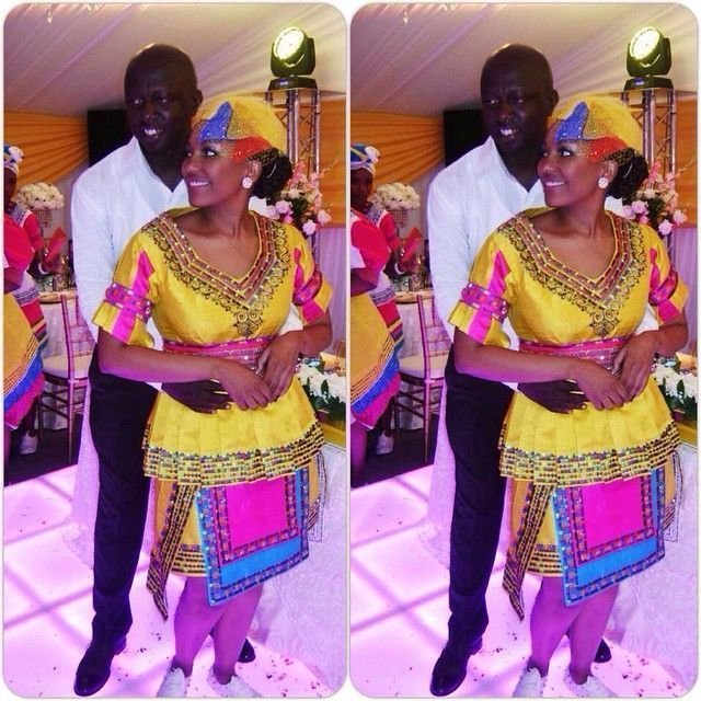 Nice African Traditional Wedding Dress Cool African Traditional Wedding Dress sepedi attire on Pinterest | Traditional ...