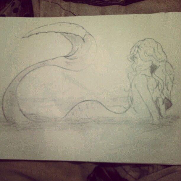 Mermaid #mermaid #art #sketch