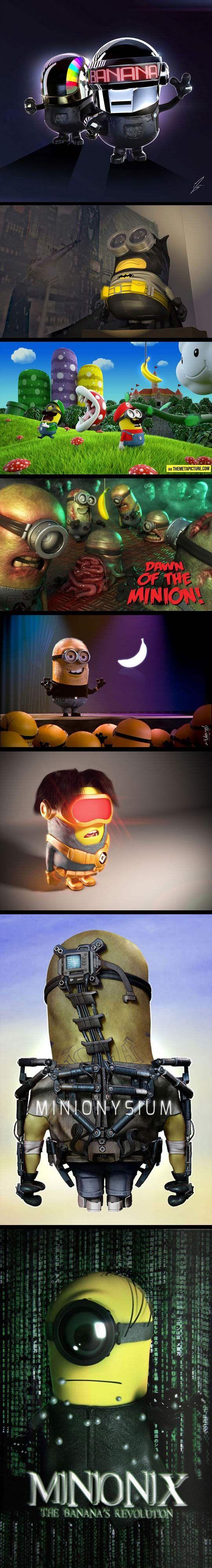Minions… Minions Everywhere