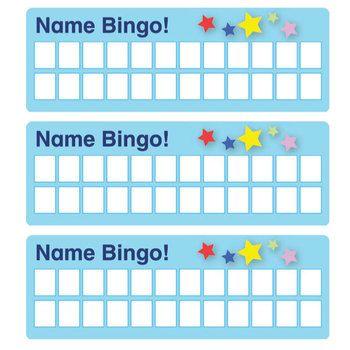 ESL Games-Name Bingo