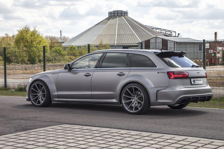 Tuner Prior Design bietet sofort ein aufsehenerregendes Bodykit für den Audi A6 Avant an, das den schicken Kombi um bis zu 10 cm in die Breite wachsen lässt.