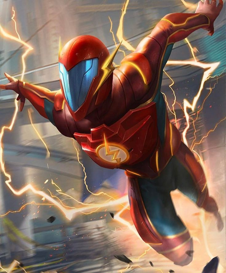 Injustice 2 Flash Artwork! #comicsandcoffee
