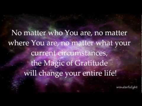 Image result for the magic of gratitude quotes