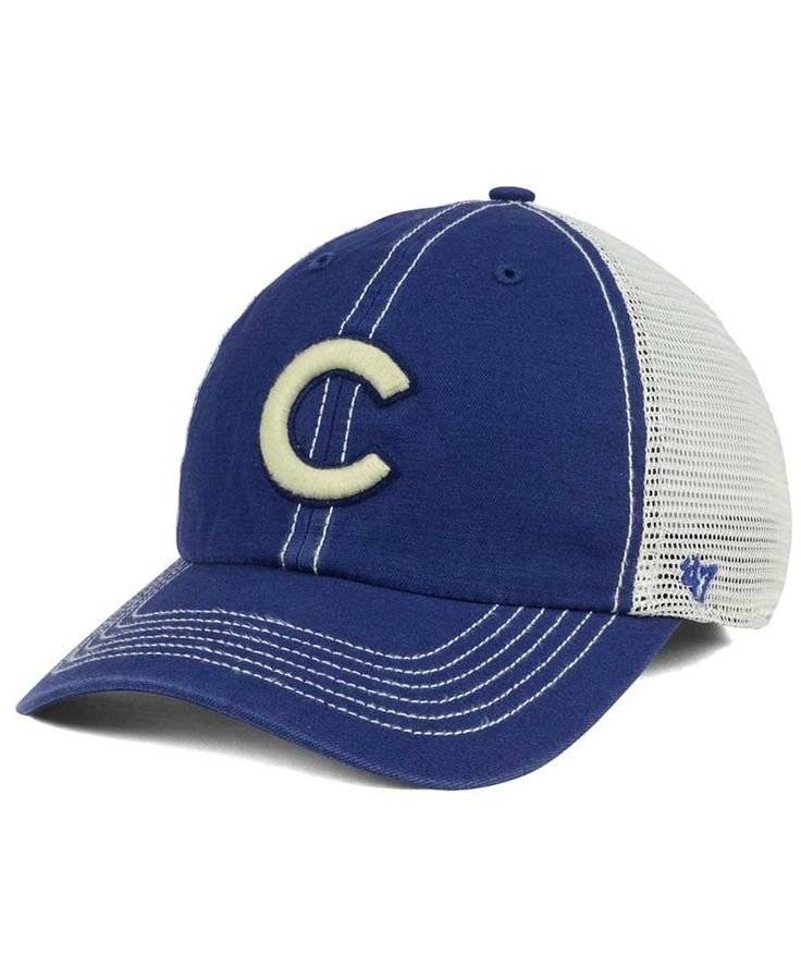 '47 Brand Chicago Cubs Prospect Mesh Closer Cap