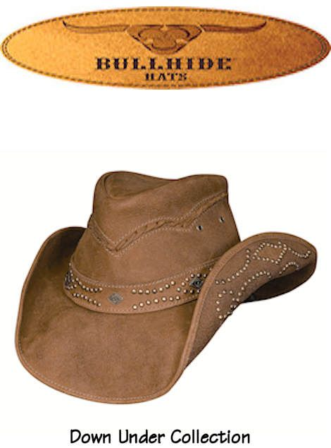 Bullhide Hats Western Leather Down Under Collection Hidden Pleasures 4023 Honey, $89.00 #country #cowgirlstyle