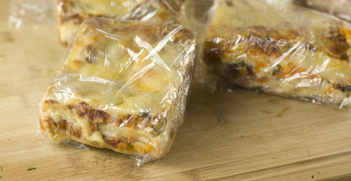 How to freeze lasagna that will reheat perfectly and is stored in easy-to-serve sizes. Plus, a delicious lasagna recipe!