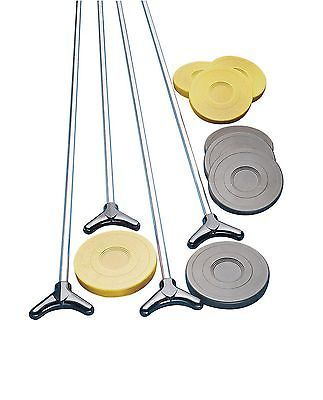 Shuffleboard 79777: Champion Sports Outdoor Shuffleboard Cue And Puck Set -> BUY IT NOW ONLY: $63.64 on eBay!