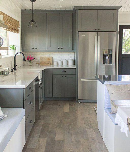 Creative Kitchen Cabinet Ideas: Creative Kitchen Cabinet Design Ideas #kitchen