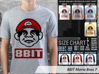 OMAH STORE: 8 BIT Mario Bros 7