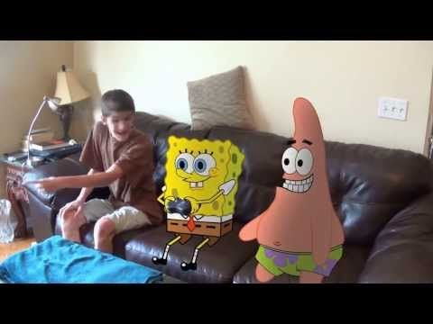 Spongebob Out of Water Movie Cake HOW TO COOK THAT Ann Reardon - YouTube