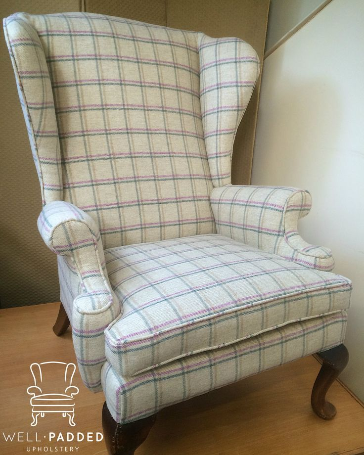 Grand old Parker Knoll in Abraham Moon wool. Gorgeous!