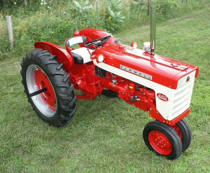 International 240 Tractor : Best images about ih tractors on pinterest old