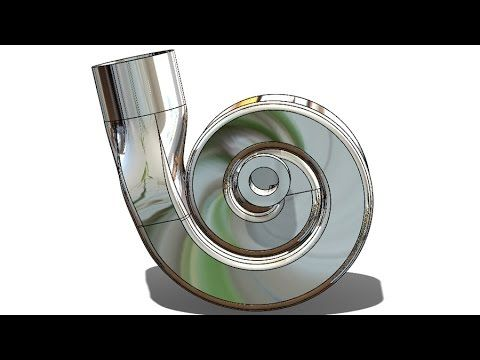 SolidWorks Tutorial #198 car : Air Turbo