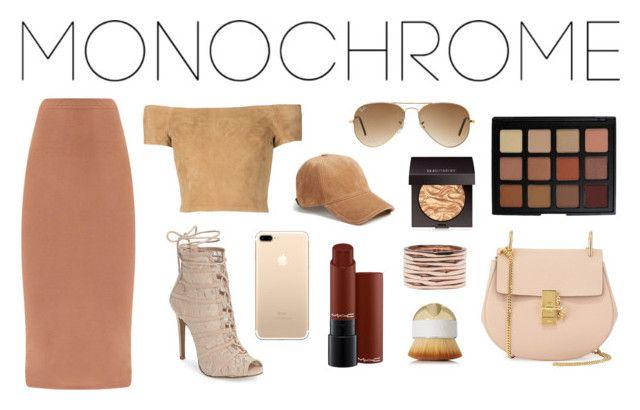 """50 shades of nude"" by lanagur on Polyvore featuring мода, Alice + Olivia, Chinese Laundry, rag & bone, Ray-Ban, Laura Mercier, Morphe, MAC Cosmetics, Repossi и Artis"