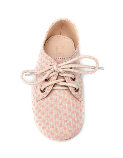 soft fabric blucher - Shoes - Baby girl (3-36 months) - Kids - ZARA United States