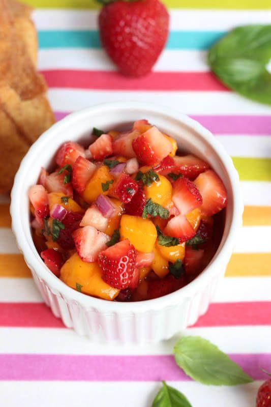 ... Fragola E Mango su Pinterest   Salsa, Ricette Salsa Di Mango e Mango