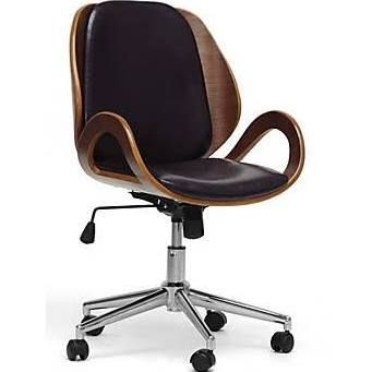 Wholesale Interiors Baxton Studio Watson Office Chair, Black $151