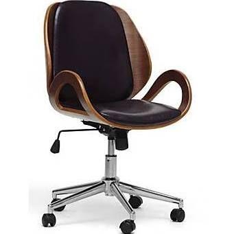 Wholesale Interiors Baxton Studio Watson Office Chair, Black $151