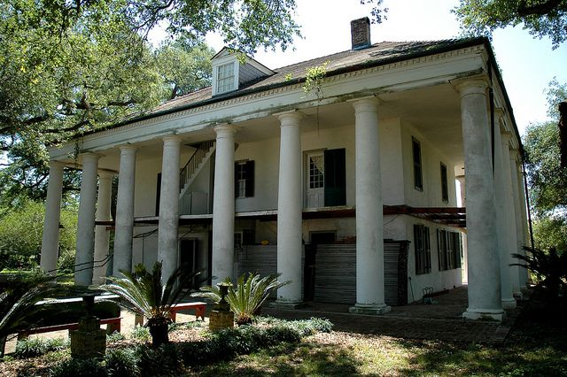 The Hermitage Plantation Circa 1812 Currently under rennovation The Hermitage Plantation is thought to be the earliest Greek Revival Mansion still standing in Louisiana