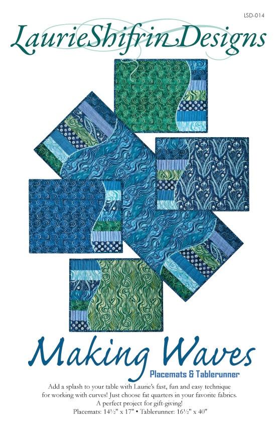 Making Waves Tablerunner & Placemats Pattern