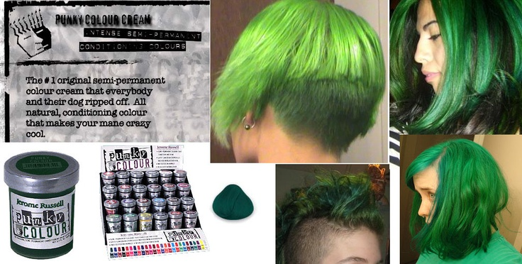 alpine green semi permanent cream dye by punky colour live fast and dye your hair pinterest coloranti verde e crema - Punky Color