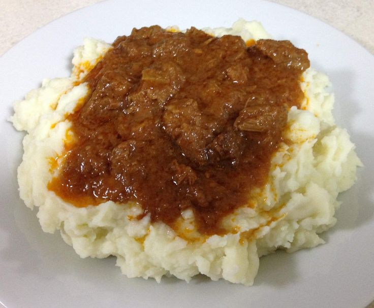 Recipe BRAISED STEAK & ONION by CarlyHill - Recipe of category Main dishes - meat