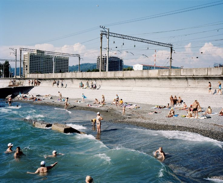 The Beach, Adler, Sochi region, Russia, 2011 (c) Rob Hornstra