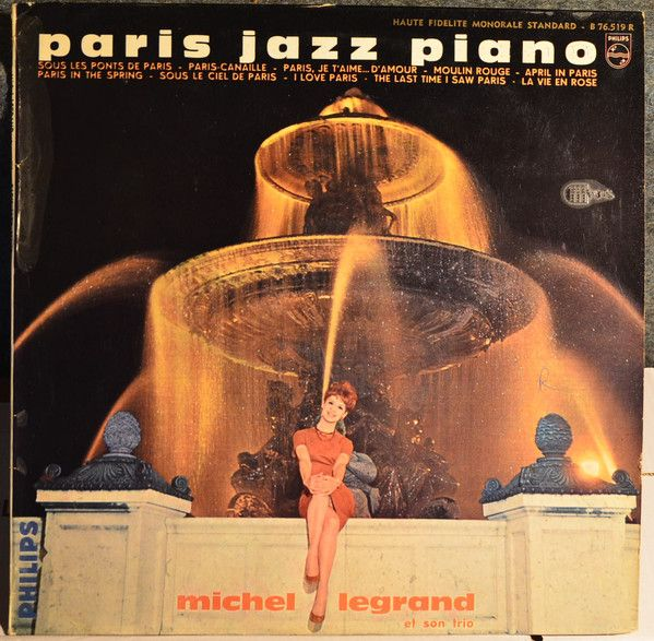 Michel Legrand - Paris Jazz Piano at Discogs