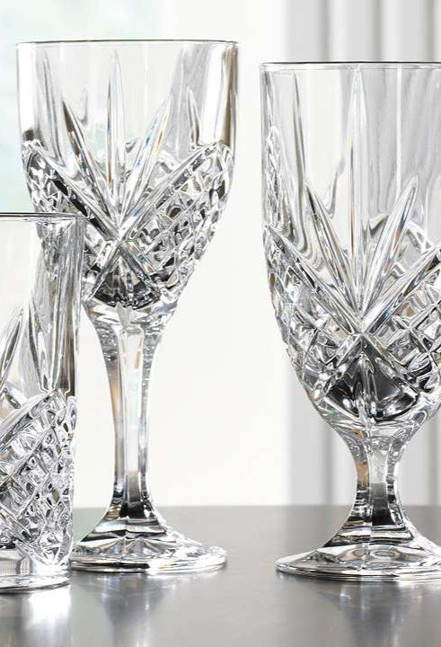 Best 25 crystal glassware ideas on pinterest - Waterford colored wine glasses ...