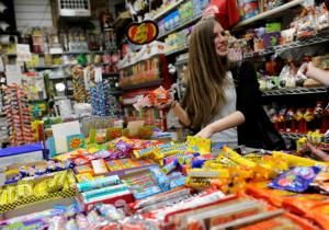 """So what if — candy also makes us happy.        And unlike anything else on the shelves, the beauty of candy is that it's actually honest.        """"It says what it is,"""" writes Samira Kawash in her new book """"Candy: A Century of Panic and Pleasure,"""" an adamant defense of all things sweet."""