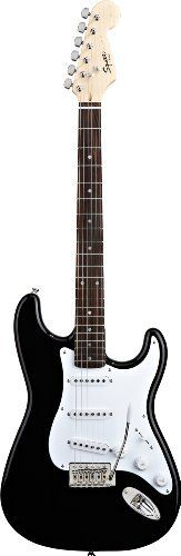 Squier by Fender BulletStrat w/Trem, Black by Squier by Fender. $129.99. Save 35%!