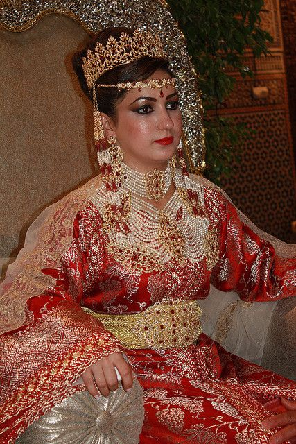 Moroccan style wedding dress | Couture Bridal Wear ... |Wedding Style Morocco