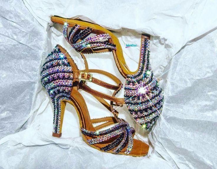 Bling ballroom Latin shoes!