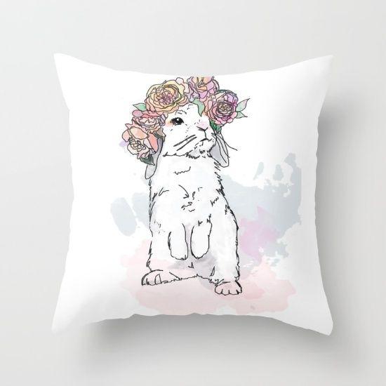 Little Flossy throw pillow! Love!