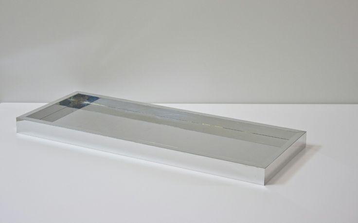 reflective storage tray