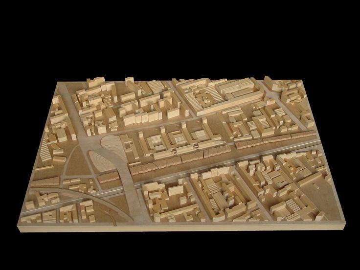 Abitare in Città residenze sul Naviglio Grande - 1:1000 - Tesi di Eleonora Salsa e Fabio Zorza