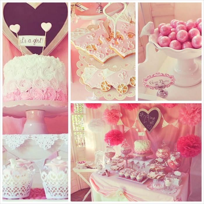 Pink Fairytale Baby Shower + Birthday Party