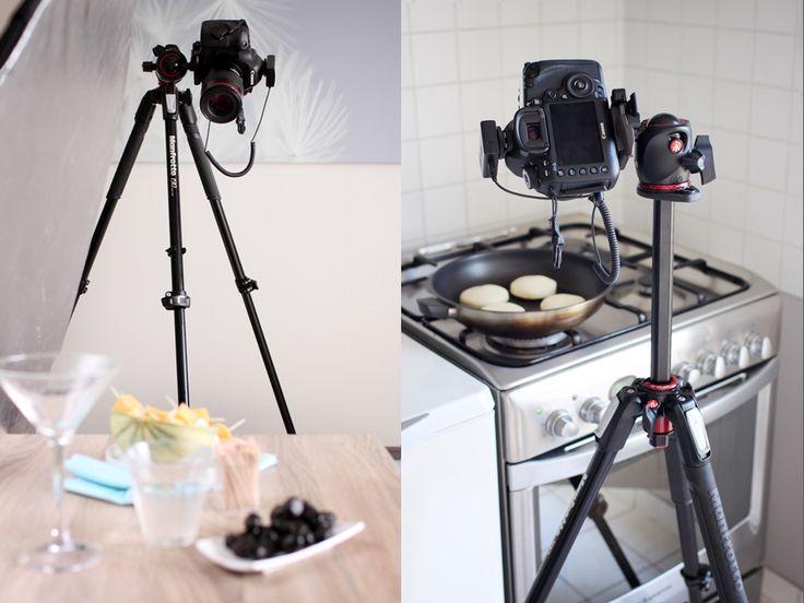Culinary photography: 190XPRO tripod test