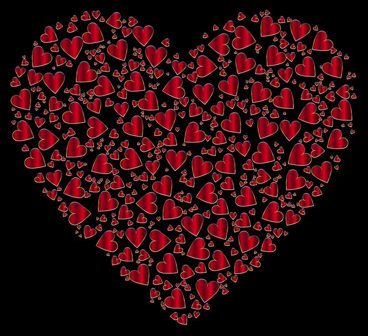 Farverige, Prismatisk, Kromatisk, Hjerte, Elsker